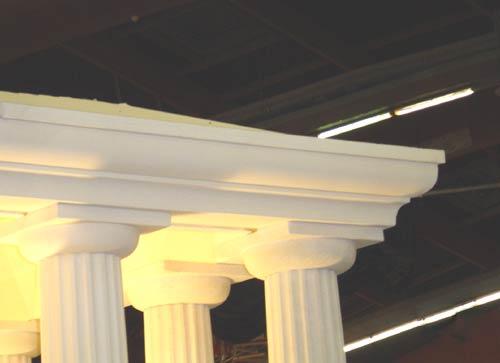 Application Des Decoupes Polystyrene Enseigne Et Decoration: application decoration